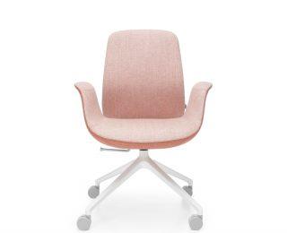 Fotele Ellie Pro - podstawa czteroramienna z kółkami