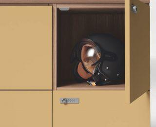 Szafki lockery - detale
