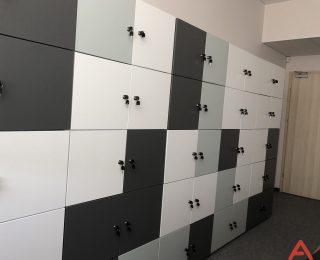 Szafki lockery - realizacje