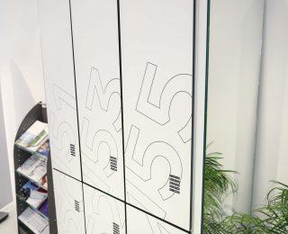 Lockery - fronty HPL, MDF, szkło